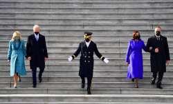 US first lady, Jill Biden, Vice President, Kamala Harris