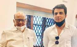 Sonu Sood meets NCP chief Sharad Pawar in Mumbai
