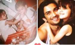 Sushant Singh Rajput's sister shares unseen pics