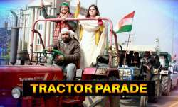 tractor parade on republic day