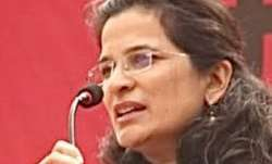 Anjali Bharadwaj, an Indian social activist working on issues of transparency and accountability