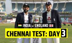 Live Score India vs England 2nd Test Day 3: Follow