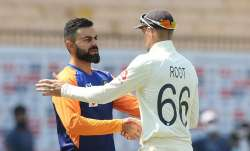 Virat Kohli and Joe Root
