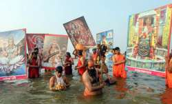 Will not participate in 'shahi snan' in Yamuna unless water is clean: Hindu seers