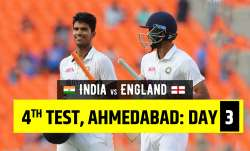Live Score India vs England 4th Test Day 3: Live Updates