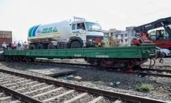 INOXAP's Cryogenic LMO Tanker onboard the DBKM wagon to