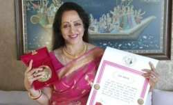 Hema Malini conferred with 2021 Champions of Change Award