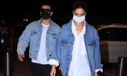 Ranveer Singh-Deepika Padukone twin in matching denim