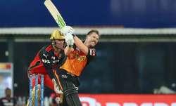 IPL 2021   David Warner hits out at SRH batsmen for playing cross-batted shots after RCB loss