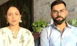 Anushka Sharma andVirat Kohli