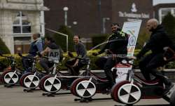 London, Delhi, cycle to save lives, raising cash, India, COVID-19 crisis, coronavirus pandemic, CORO