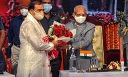 Assam CM takes oath