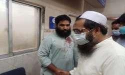 Hafeez Saeed's son Hafiz Talha caught in camera visiting a