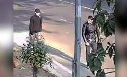 Israel embassy blast CCTV video, Israel embassy blast video, Israel embassy blast two suspects, NIA