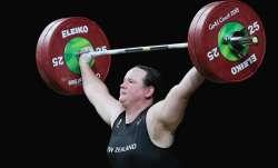 laurel hubbard, transgender athlete, transgender weightlifter,