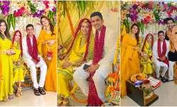 Sana Sayyad is happy bride-to-be during her Haldi