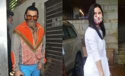 Ranveer Singh-Katrina Kaif visit Zoya Akhtar's house amid