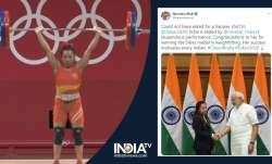 PM Modi congratulates Mirabai Chanu on Tokyo Olympics silver medal: 'Her success motivates every Ind