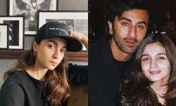 Alia Bhatt is missing boyfriend Ranbir Kapoor, here's her adorable coping mechanism!