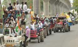 farmers protest tractor rally independence day