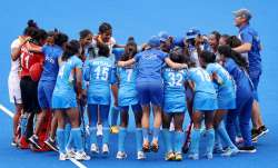 The Indian women's hockey team scripted history on Monday