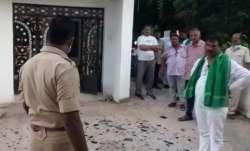 Bombs hurled at Odisha MLA's residences, four injured