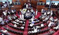 6 TMC MPs suspended from Rajya Sabha for a day