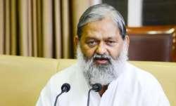 Anil Vij compares Punjab Congress to sinking ship, calls it