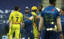 Mumbai Indians and Chennai Super Kings