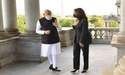PM Modi holds talks with VP Kamala Harris in D.C.