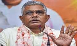 dilip ghosh slams west bengal govt