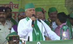 Bihar bypolls: Lalu addresses poll rally after 6 years,