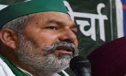 Farmer leader Rakesh Tikait.