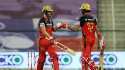 Devdutt Padikkal and AB de Villiers