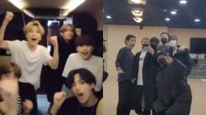 BTS members can't stop screaming with happiness as they top Billboard Hot 100 chart once again