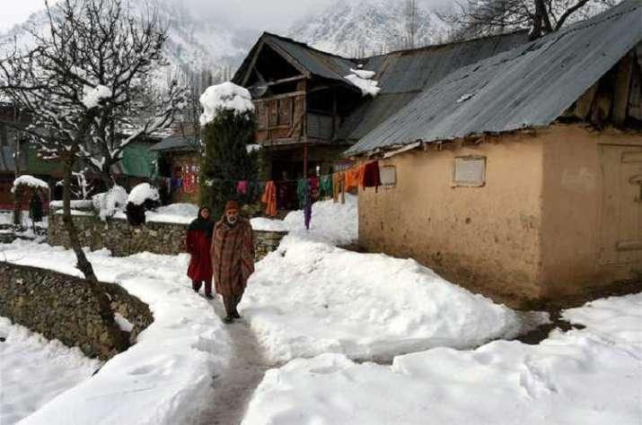 North India temperature dip
