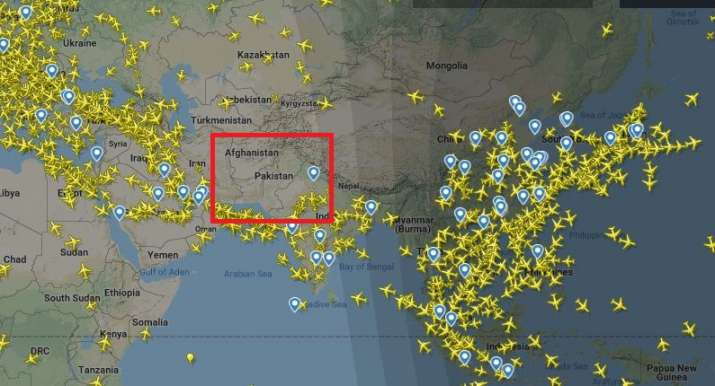 Flights rerouted