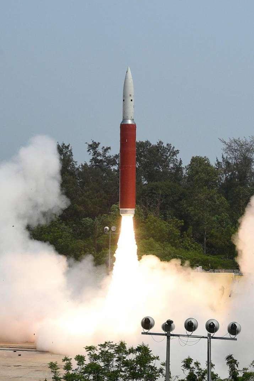 Launch of anti-satellite missile