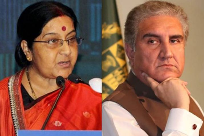 On Tuesday, Sushma Swaraj arrived in Kyrgyz for a two-day visit to attend SCO Foreign Ministers meet