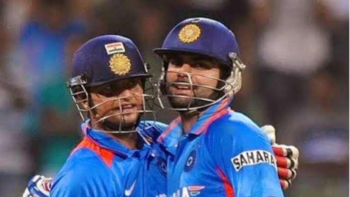 Virat Kohli congratulates Suresh Raina on a top career